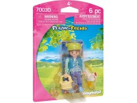 Playmobil Playmo-Friends Boerin met kip - 70030